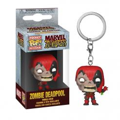 Funko Pop. Брелок. Marvel Zombies. Deadpool