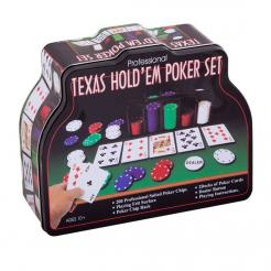 Покер 200 фишек Texas holdem poker set 200
