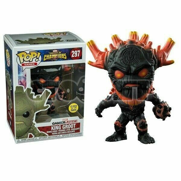 Funko Pop. AV. King Groot
