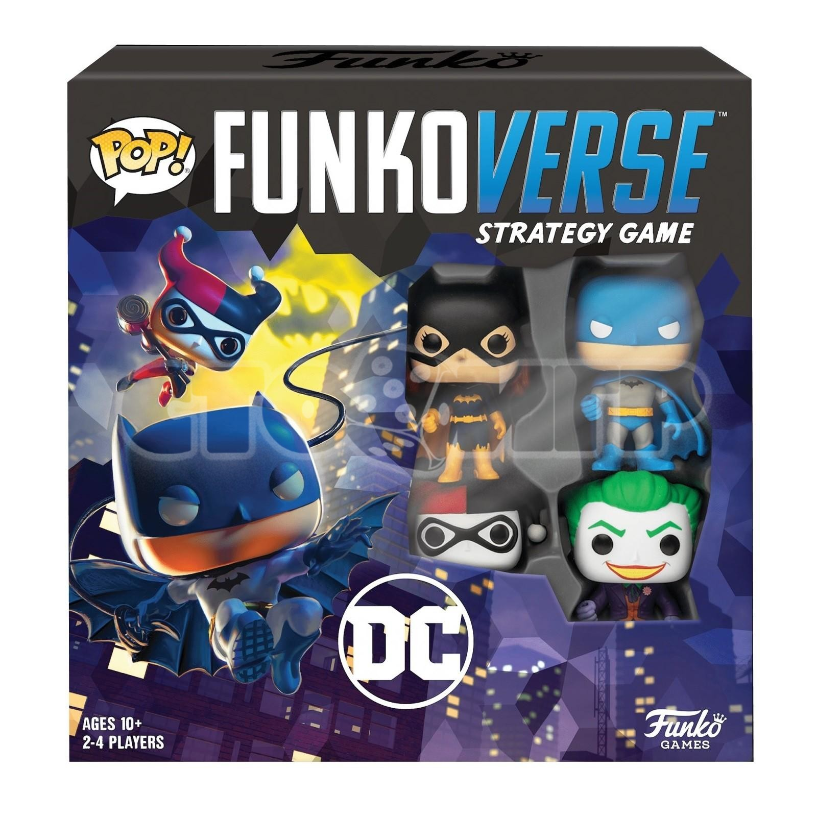 Funkoverse. DC Comics Base Set