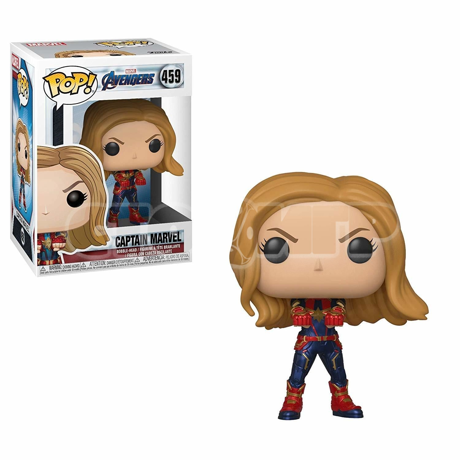 Funko Pop. AV. Captain Marvel