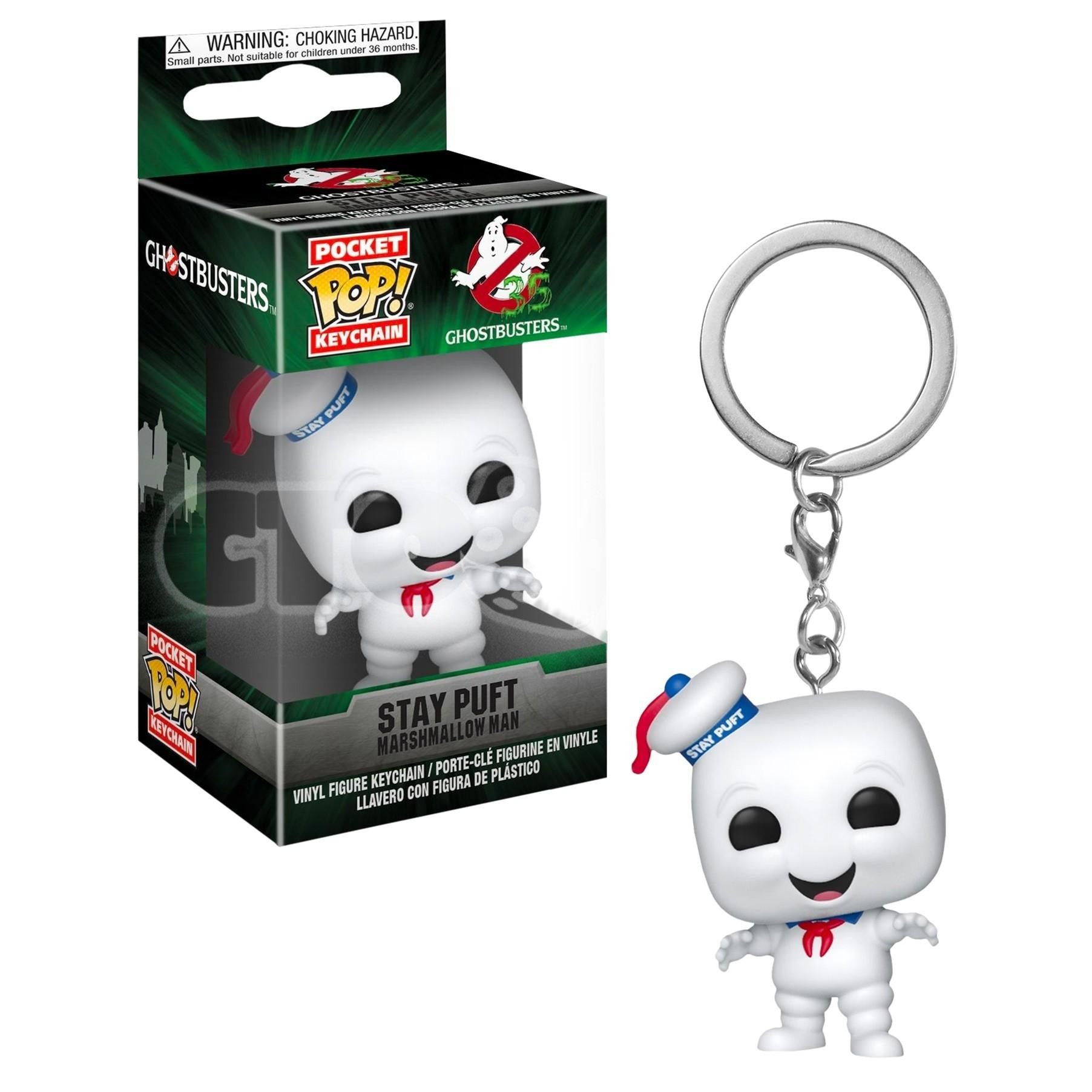 Funko Pop. Брелок.  Ghostbusters. Stay Puft (GW) (Exc)